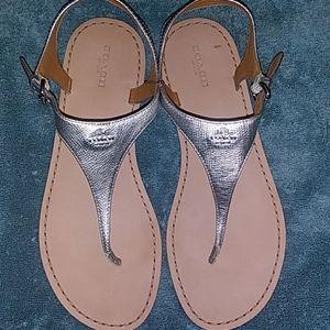 """Coach """"Cheyenne"""" Thong Sandals"""